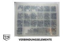 Linsenkopfschrauben Sortiment/Set DIN 7985 TORX 900 Teile EDELSTAHL A2 M4/M5/M6