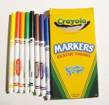 2002 Crayola Washable Markers from  Crayola Crayon by Binney & Smith