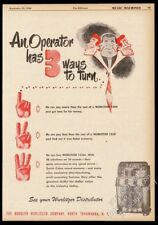 1950 Wurlitzer 1250 jukebox photo vintage trade print ad
