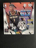 2019-20 Panini Mosaic NBA Trading Cards Mega Box- 80 Cards 🏀 Zion Ja 🔥