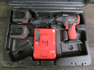 Snap On 14.4 volt Cordless 1/2 Impact Wrench Kit CT4450A