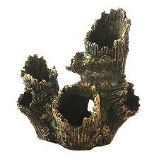 Aquarium Decoration Resin Tree Wood Cave For Fish Tank Water Sea Ornament Decor