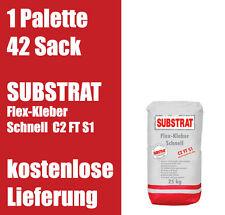 SUBSTRAT Flexkleber Schnell C2 FT S1 Fliesenkleber 1Palette 1,14€/kg