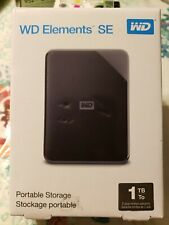Western Digital Elements SE 1TB Portable Hard Drive - Free Shipping