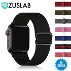 For Apple Watch iWatch Band 7 SE 6 5 4 3 2 Nylon Elastic Strap 44 42 40 38 mm