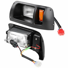 Club Car DS Golf Cart LED Headlight & Tail Light Kit 1998-UP Gas and Elec Models