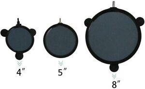 "VIVOSUN 4"" 5"" 8"" Air Stone Disc with Shell for Hydroponics Aquarium Tank Pump"