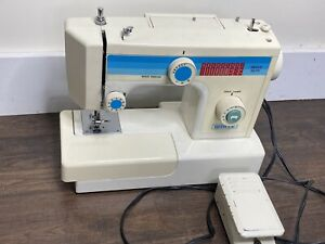 White Model Model 1455 Sewing Machine Tested