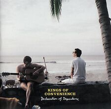 KINGS OF CONVENIENCE : DECLARATION OF DEPENDENCE / CD - TOP-ZUSTAND