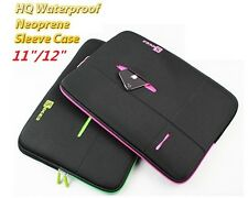 HQ Laptop Waterproof Protection Sleeve Case Soft Bag for MacBook 11, 12 inch