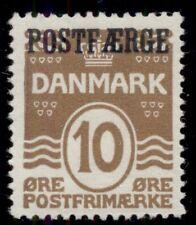 DENMARK #Q2 (Pf17) 10ore bister brown, og, NH, VF, Scott $38.00