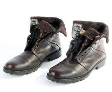 Gallizio Torresi Herren Boots Schuhe Stiefel braun gefüttert Gr. 10 / 44