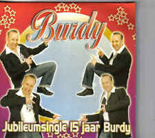Burdy-Jubileumsingle 15 Jaar Burdy cd single