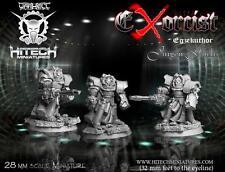 HITECH MINIATURES - 28SF070 Exorcist Egzekuthor Jurgen Fuchs *Warhammer 40000*