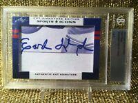 Earl Lloyd 2012 Leaf Sports Icons Basketball Hall of Fame Cut Signature BGS