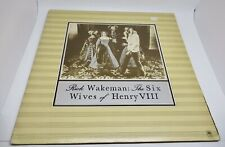Rick Wakeman The Six Wives Of Henry VIIISP-44361 LP 33 RPM Record A&M