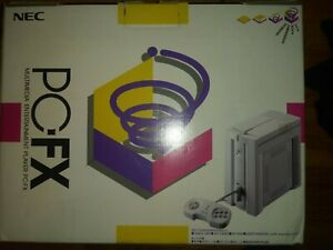 PC-FX NEC Box with manual only US seller