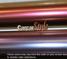 Chameleon Matt color amarillo-rojizo 1m (39,4 En) X 1.52 M Aire Libre Wrap película de vinilo adhesivo