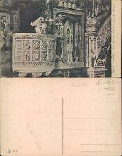 SUBIACO - SACRO SPECO - CHIESA SUPERIORE DETTAGLIO PARETE   (rif.fg.11083)