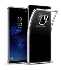 Funda de gel TPU carcasa silicona para movil Samsung Galaxy S9 transparente