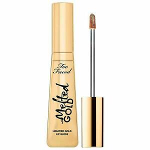 Too Faced Melted Gold Liquified Gold Lip Gloss Glitter Lipstick Lipgloss Hot