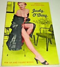"JUDY O'DAY~Vintage Pin-Up Digest~B&W~5""x7""*"