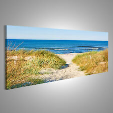 deko bilder drucke auf leinwand mit ostsee g nstig kaufen ebay. Black Bedroom Furniture Sets. Home Design Ideas
