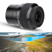 2inch Plossl 15mm Ultra Wide Angle 80 Degree Eyepiece for Astronomy Telescope WT