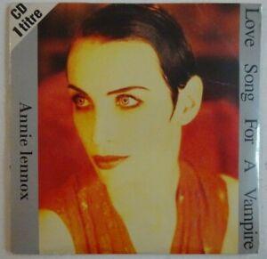 ANNIE LENNOX : LOVE SONG FOR A VAMPIRE ♦ CD Single Promo NEUF ♦