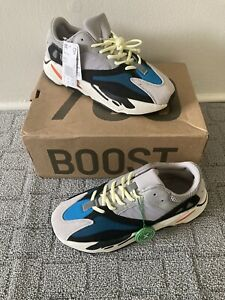 Adidas Yeezy Boost 700 2017 Wave Runner Size 10 B75571 Grey Green Blue White