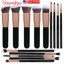 14Pcs/Set Makeup Brushes Tool Cosmetic Powder Foundation Eyebrow Eyeshadow Brush