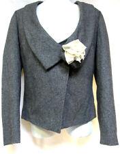 Women sz S / 10 BOO RADLEY elegant cropped Jacket classic retro dressy NWT! $229