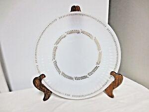 """Older Federal marked Milk Glass 11"""" Chop or Serviing Plate-Golden Harvest Patter"""