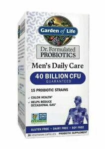 Garden of Life Dr. Formulated 40 Billion CFU Men's Probiotics 30 Vegcap Exp01/23