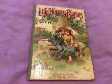 Antique Little Nursery Rhymes Book - Ernest Nister