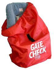 Jl Childress Gate Check bolsa para Asiento de Coche-recién nacidos y arriba-Rojo