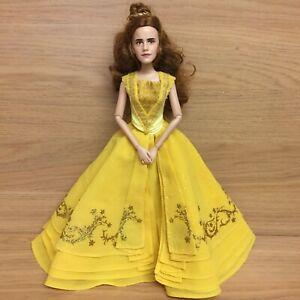 "Disney Store Live Action Beauty & The Beast Belle Emma Watson 11"" Doll & Dress"