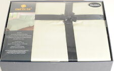 Queen 800TC Sage Green Bedding Set Sheets 4PC Pima Cotton Dell'Arte Luxury H3F