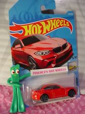 2016 BMW M2 #254 Int'l ✰RED;gray pr5✰factory fresh✰2018 i Hot Wheels WW case L/M