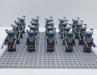 20x Jango Fett Mandalorian Troopers Mini Figures (LEGO STAR WARS Compatible)