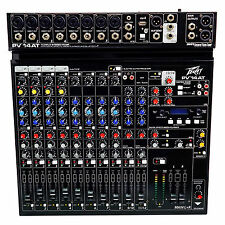 Peavey PV 14AT PV14AT Mixer,8 mic in,USB,Compressor/Effects+Bluetooth+AutoTune