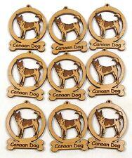 Canaan Dog Mini Ornaments Box of 9