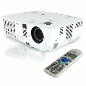 NEC V300W Projector 1280 x 800 (WXGA) 3D-ready Beamer 3000 Lumen