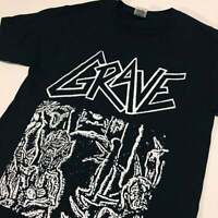 GRAVE T shirt demo cover Death Metal Carnage Entombed Nihilist Dismember Autopsy