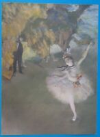 """Degas """"The Star"""" Lithograph Print  """"Masterpiece the World's Greatest Paintings"""""""