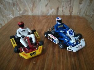 Ninco 1/18 lot of 2 karting slot cars No.47 & No.23