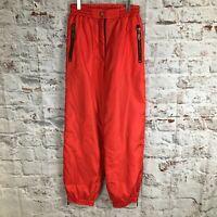 Rodeo 12 14 Red Salopettes Ski Trousers C&A Vintage Snowboard Pants Retro EU 40