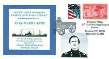 EDWARD CANBY Ship named: Union Army General Civil War Portrait Pictorial PM