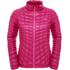 The North Face Thermoball Full Zip Puffer Jacket Fuschia Pink Women's Large NWT