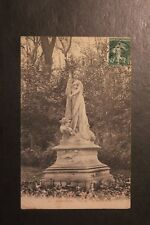 """Carte postale ancienne CPA PERPIGNAN - Statue """"La Musique"""""""